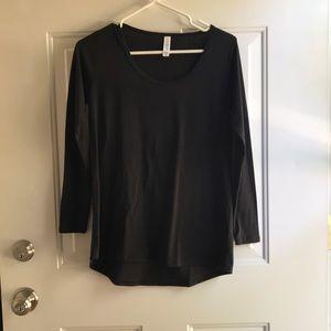 LuLaRoe black shirt